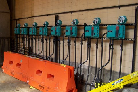 Control Stations for Emerson-EIM Submersible Actuators (8 Units)